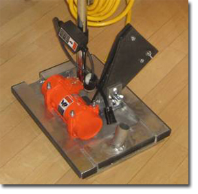 The Intermediate Cleaning and Abrasion Tool, ICAT, from WF Floor Innovations